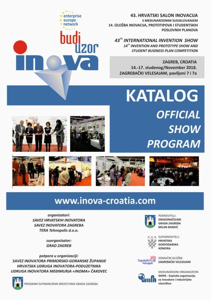 Catalog front page INOVA 2018
